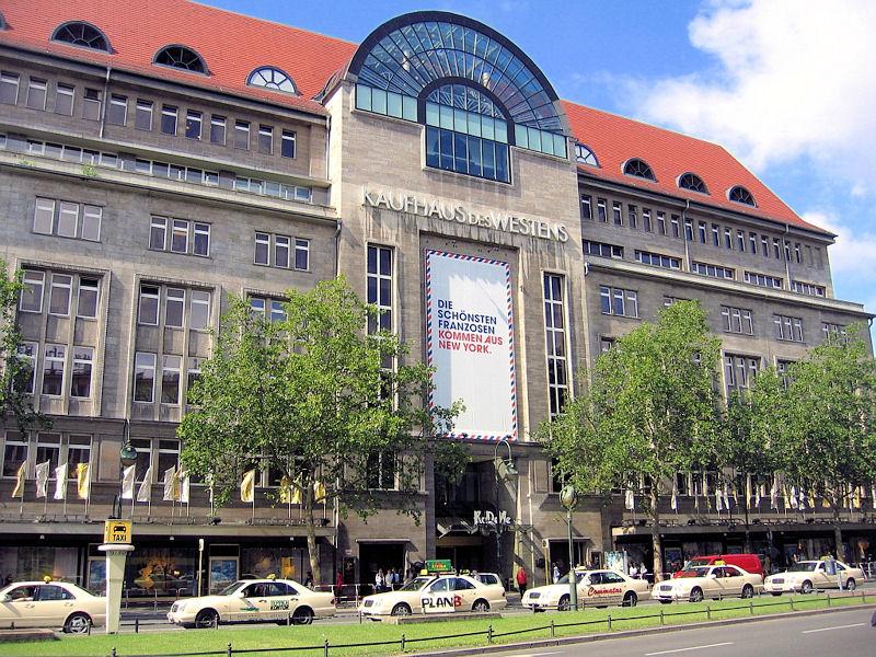 Kdw Berlin Kaufhaus